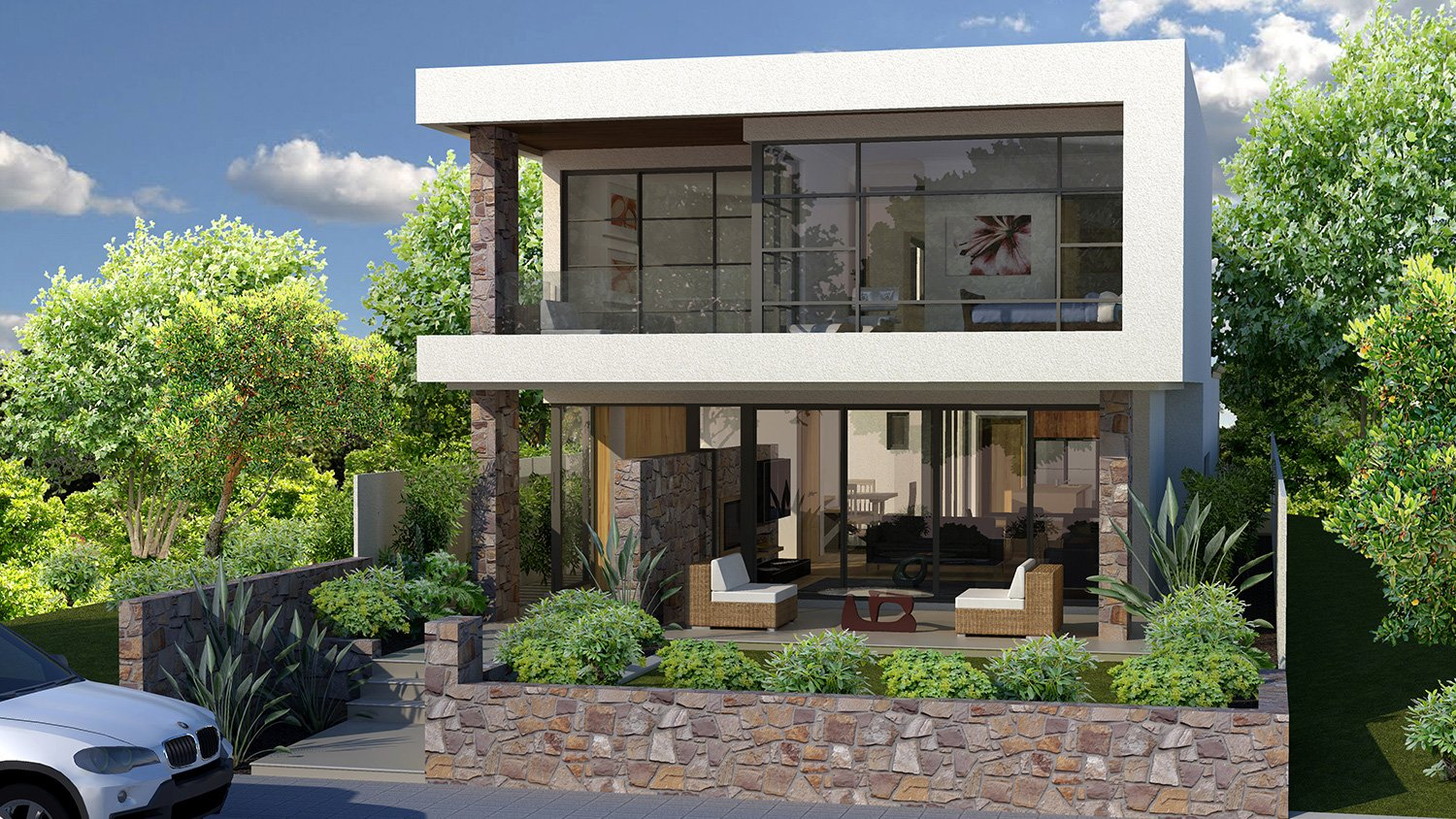 Exceptionnel View Our Floreat Project Image Of A Narrow Lot Homes Perth. Design Is  Critical With Narrow Blocks ...